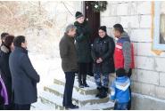 Premierul Dacian Cioloș, vizită în comuna Potlogi, Dâmbovița