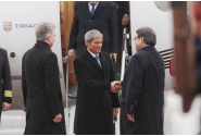 Sosirea premierului Dacian Cioloș la Berlin