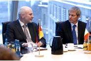 Premierul Dacian Cioloș în vizită la sediul Bundestag