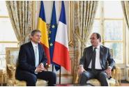 Primirea de către președintele Republicii Franceze, François Hollande