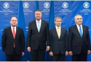 Participarea premierului Dacian Cioloș la ceremonia de preluare a mandatului de ministru de externe a lui Lazăr Comănescu