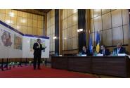 Premierul Victor Ponta, la prezentarea priorităților de infrastructură rutieră pentru perioada 2015-2016, la Ministerul Transporturilor